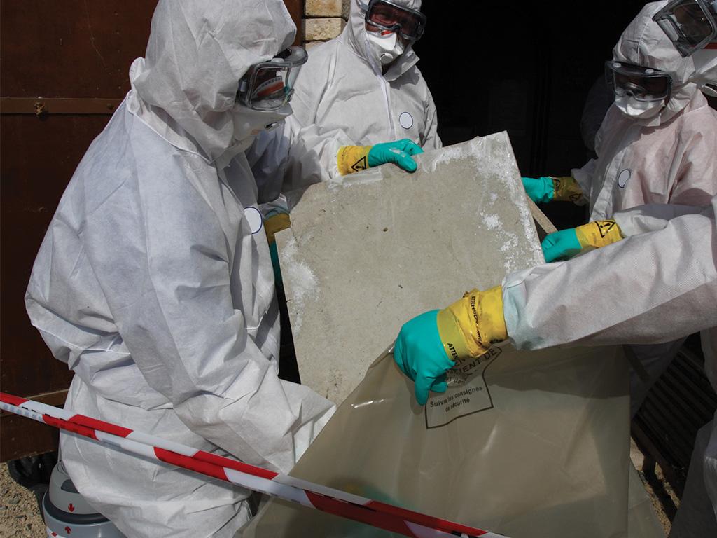 rimozione amianto uffici