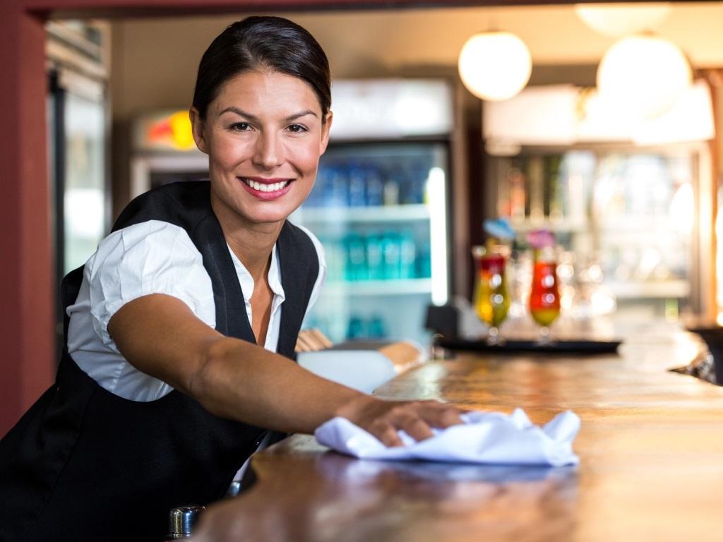 Pulizia e sanificazione per ristoranti e bar